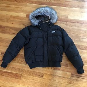 Women's north face puffy coat